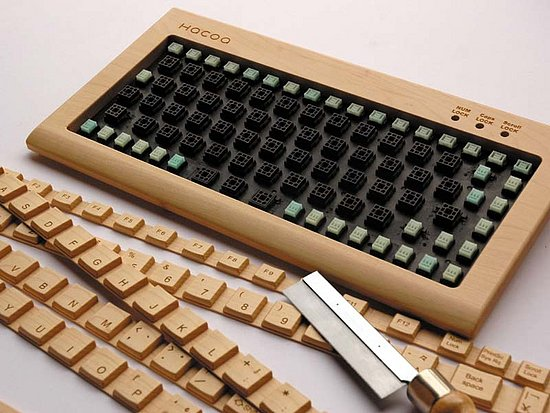 Wood Keyboard Kit