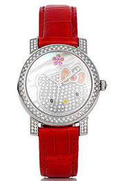 Luxurious Hello Kitty Watch