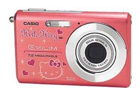 Hello Kitty Casio Camera