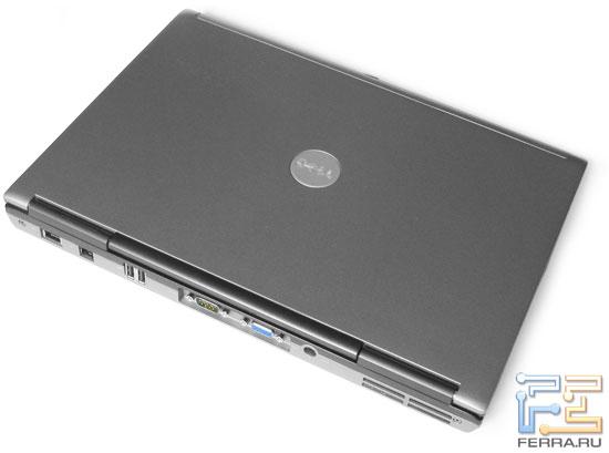 Dell Latitude D630: внешний вид в закрытом состоянии<