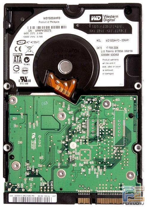 Печатная плата жёсткого диска