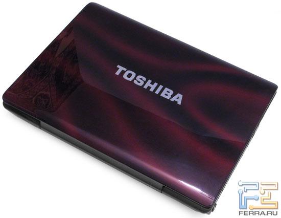 Toshiba X200: внешний вид в закрытом состоянии