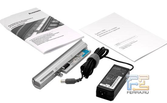Lenovo 3000 V100: комплектация