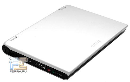 Lenovo 3000 V100: внешний вид в закрытом состоянии