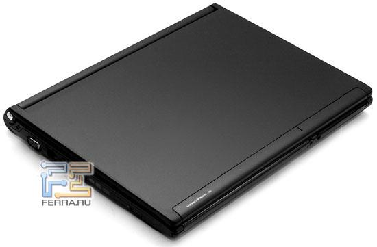Desten EasyBook P852: внешний вид в закрытом состоянии