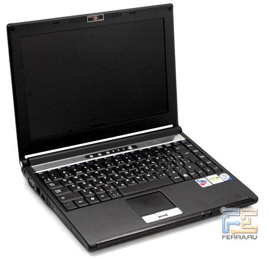 Desten EasyBook P852: внешний вид в открытом состоянии
