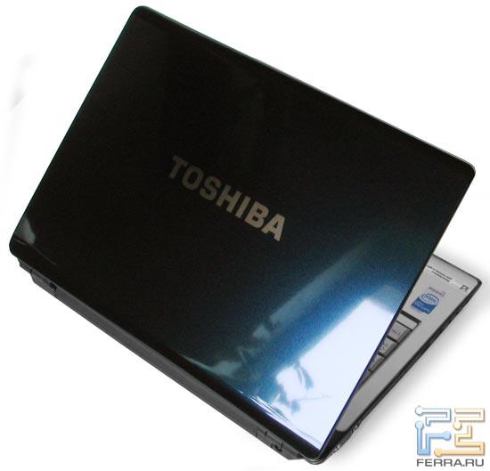 Toshiba U300: внешний вид в приоткрытом состоянии