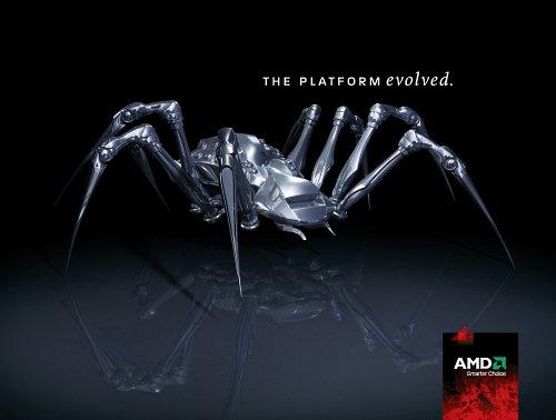 Логотип AMD SPIDER