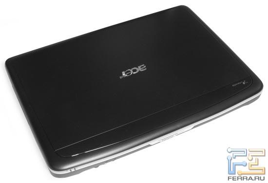 Acer Aspire 5315: внешний вид в закрытом состоянии
