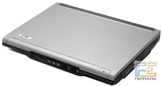 Acer TravelMate 6492: внешний вид в закрытом состоянии