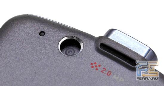 Motorola ROKR E8: камера