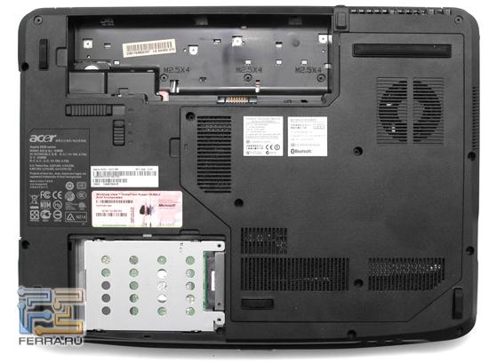 Все три ноутбука предоставляют одинаковые возможности по модернизации.