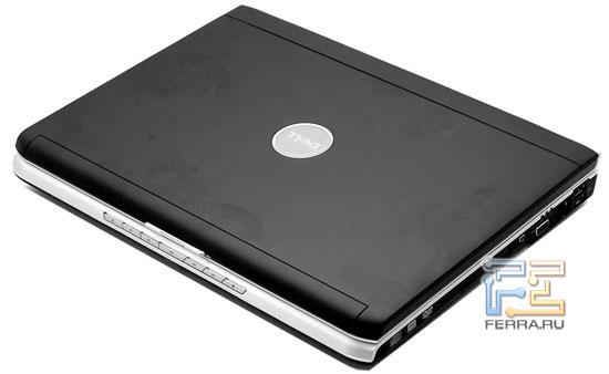 Dell Inspiron 1520: внешний вид в закрытом состоянии