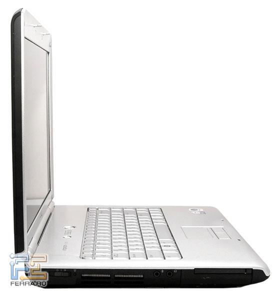 Dell Inspiron 1520: внешний вид в открытом состоянии
