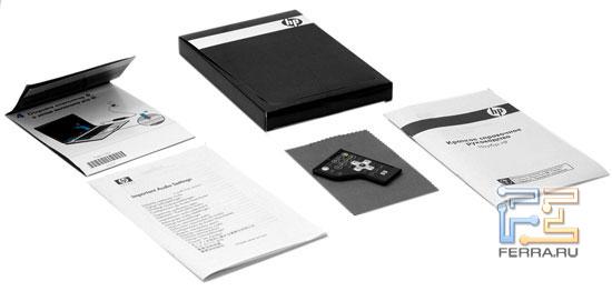 HP Pavilion dv6500: комплект поставки<