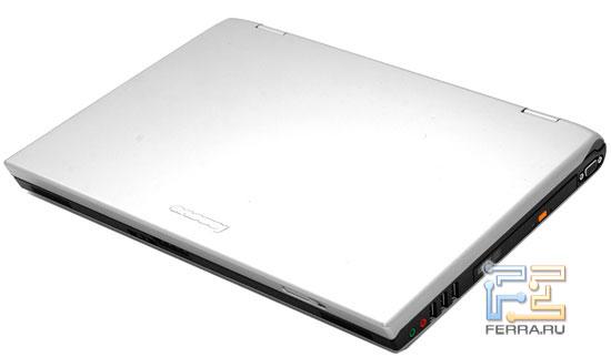 Lenovo 3000 N200: внешний вид в закрытом состоянии