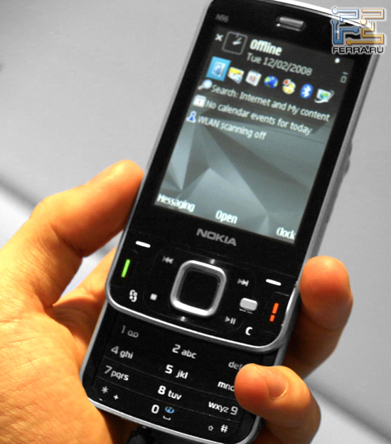 Nokia N96 на выставке Mobile World Congress 2008 1