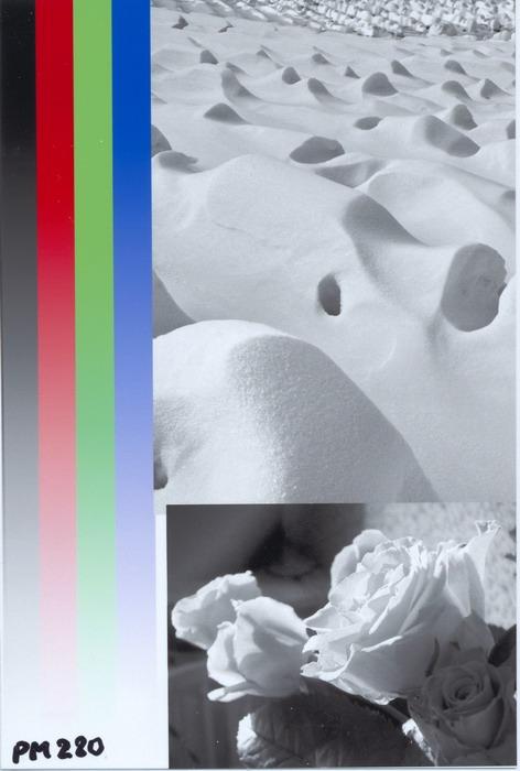 Epson Picturemate PM280. Градиенты и монохромная печать