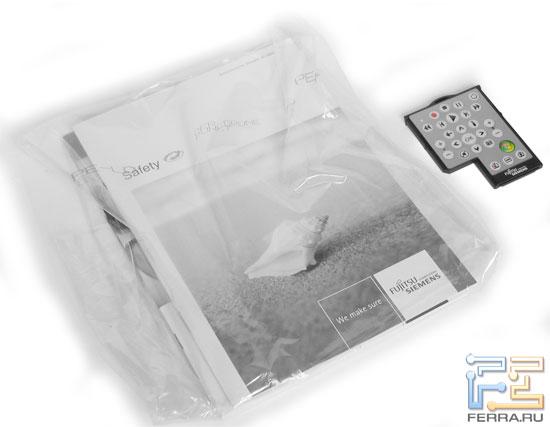 FSC AMILO Xi2550: комплект поставки