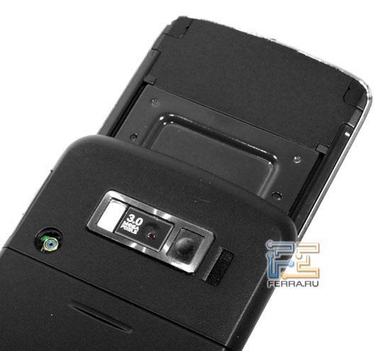 LG KF600: камера