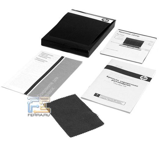 HP Pavilion dv6650er: комплект поставки