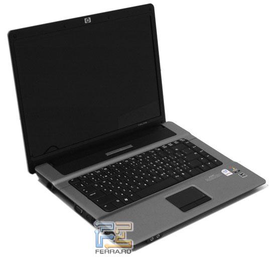 HP Compaq 6720s: внешний вид в открытом состоянии