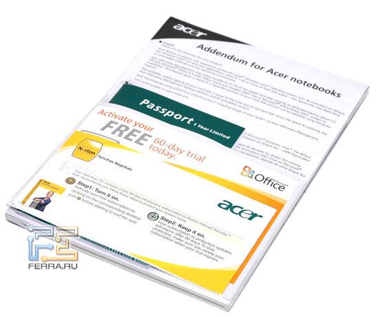 Acer Aspire 2920: ������������