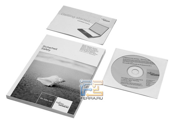 Fujitsu Siemens ESPRIMO U9200: ������������