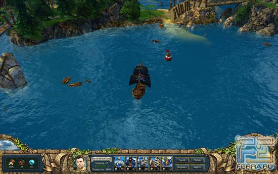 Какая успешная игра обходится без пиратской романтики?
