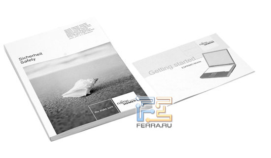 Fujitsu Siemens ESPRIMO D9500: комплект поставки