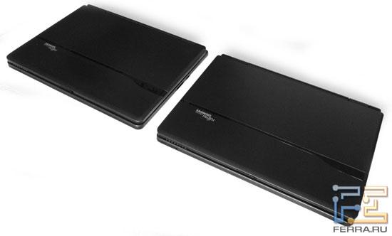 Fujitsu Siemens AMILO Pi 2550 и Pi 2540: внешний вид в закрытом состоянии 1