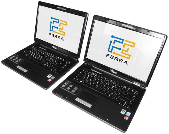 Fujitsu Siemens AMILO Pi 2550 и Pi 2540: внешний вид в открытом состоянии 1