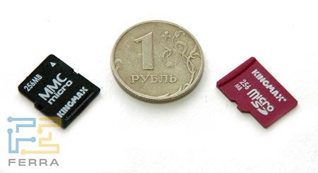 Предельно миниатюрные флеш-карточки сегодня весьма распространены