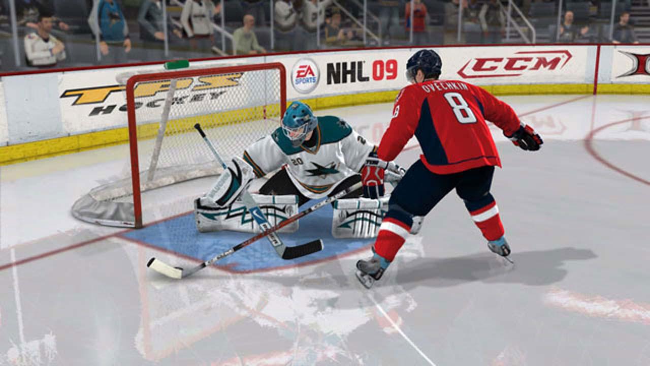 NHL 09 + русские коментаторы 2008/Русский Simulation скачать торрент