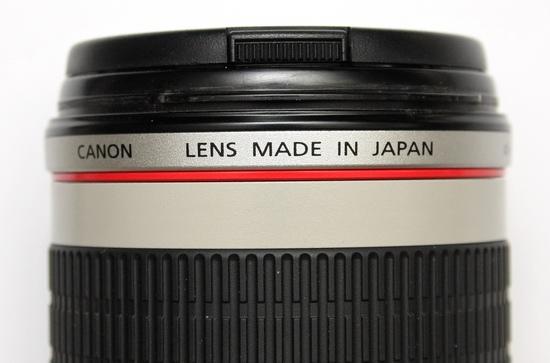 Красное кольцо – символ профессиональной L-серии объективов Canon