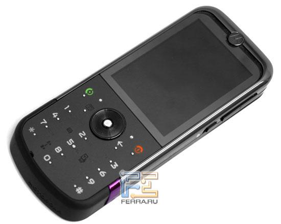 Тест 5-мегапиксельных камерофонов с Wi-Fi: Motorola ZINE ZN5 1