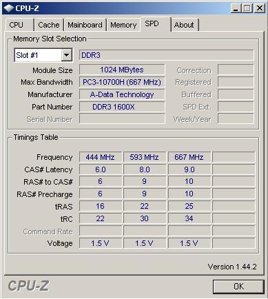 A-DATA DDR3-1600X 10