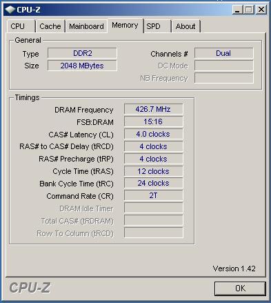 Corsair CM2X1024-6400C4 6