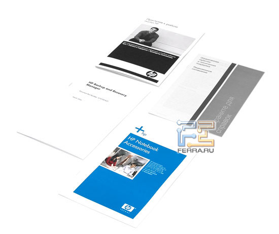 HP Compaq 8710p: комплектация