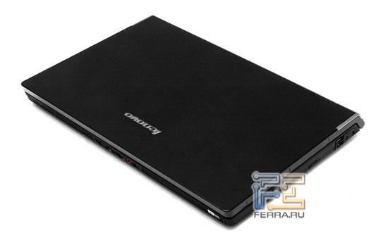 Lenovo IdeaPad Y710: внешний вид в закрытом состоянии