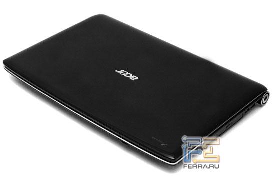 Acer Aspire 8920: внешний вид в закрытом состоянии