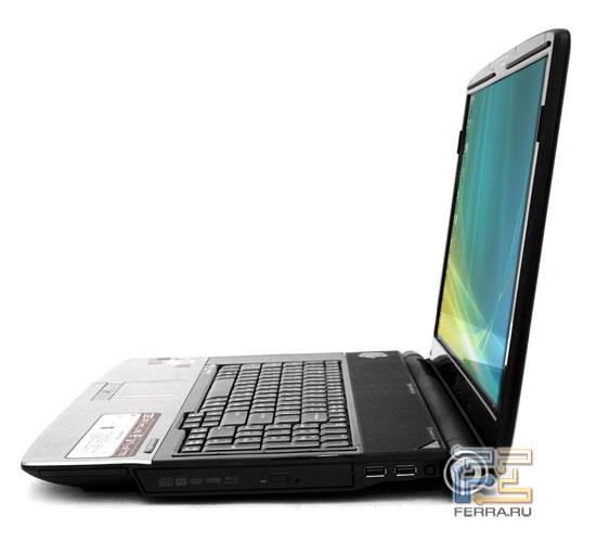 Acer Aspire 8920: внешний вид в открытом состоянии 2