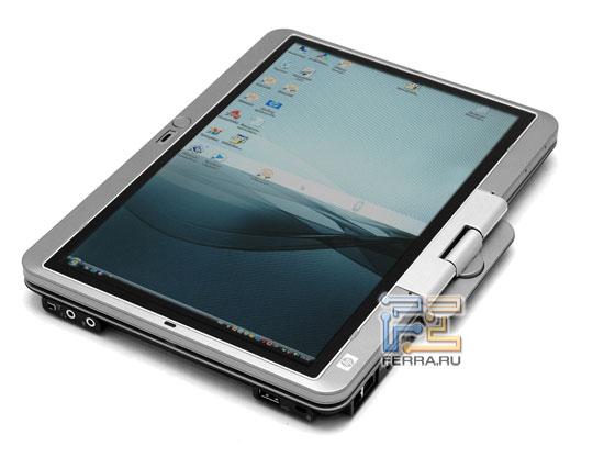 HP Compaq 2710p: внешний вид в открытом состоянии 3