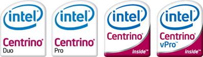 ��������, ����������� ��� ����������� ��������� ��������� ��������� Intel Centrino (Santa Rosa)
