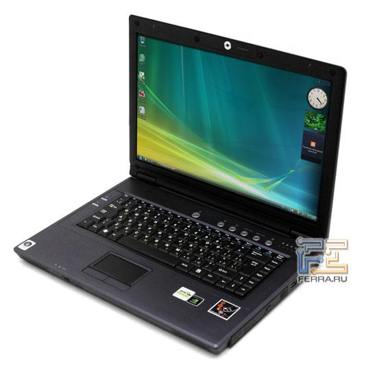 Desten EasyBook D855: внешний вид в открытом состоянии 1
