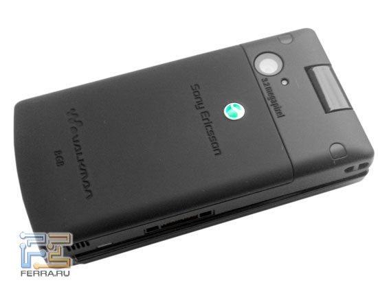 Sony Ericsson W980: камера