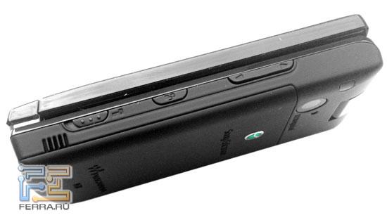 Sony Ericsson W980: торцы 1