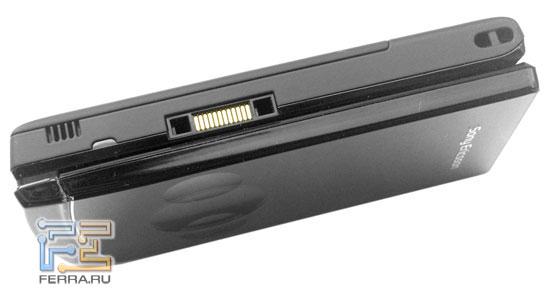 Sony Ericsson W980: торцы 2