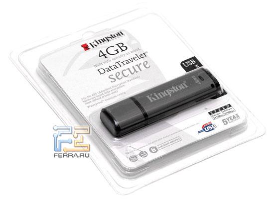 Kingston DataTraveler Secure 4GB 1