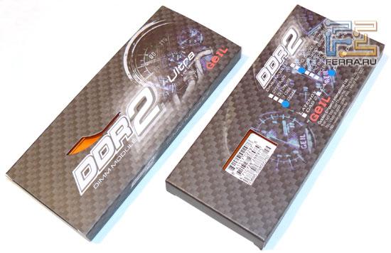Упаковка GeIL Ultra GX22GB6400C4USC